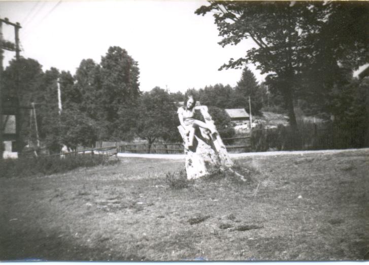 Gabriela Kalińska zdjęcia od jeziora Łajs